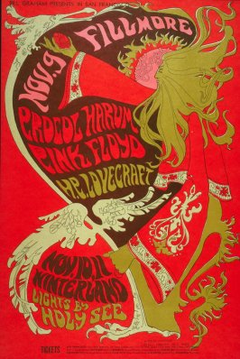 Procol Harum, Pink Floyd, H.P. Lovecraft, November 9, Fillmore Auditorium, November 10-11, Winterland