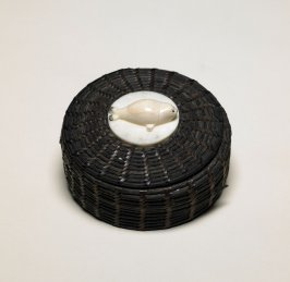 Baleen Basket with seal finial