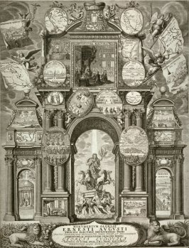 A Monument in the Glory of Ernest August, Elector of Brunswig, Hanover, 1666 to 1689
