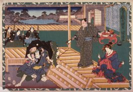 Act 7 from the Storehouse of Loyalty (Chushingura) (seventh image from a complete set of twelve)