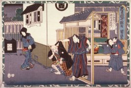 Act 10 from the Storehouse of Loyalty (Chushingura) (tenth image from a complete set of twelve)