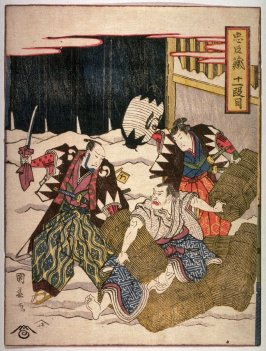 Act II from The Storehouse of Loyalty (Chushingura)