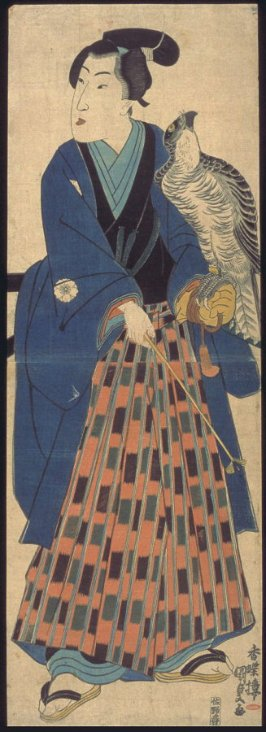 Youth with Falcon