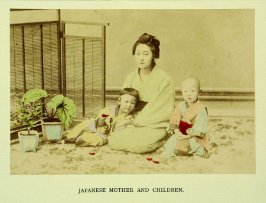 Japanese Mother and Children