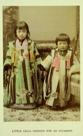 Little Girls Dressed for an Occasion