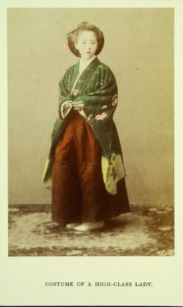 Costume of a High - Class Lady