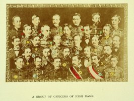 A Group of Officers of High Rank