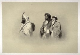 Sheikh Imam-ud-Din, Runjur Sing, Dewan /Dina Nath, twenty-sixth plate in the book, Recollections of India … Part I. British India and the Punjab (London: Thomas M'Lean, 1847)