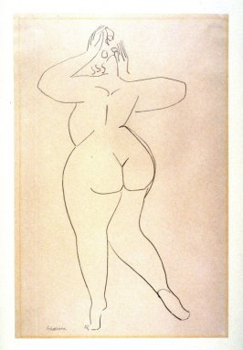 Female Nude, seen from the rear (Mme Lachaise)