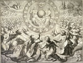 """""""Thus the heavens and the earth were finished, and all the hostof them. On the seventh day God ended his work which he had made; and he rested on the seventh day from all his work which he had made..."""""""