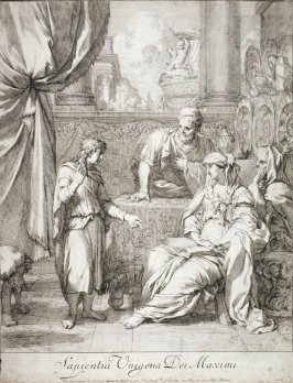 Christ as a Child talking to His Parents and Saint Anne