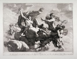 Winter, from a set of four allegories of the seasons
