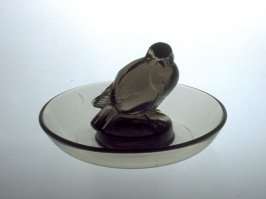 Bird in bowl candy dish