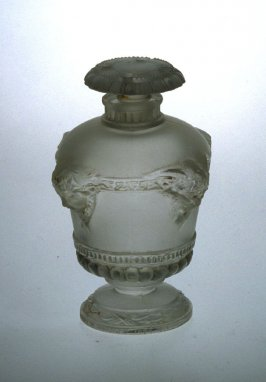 Perfume bottle with top