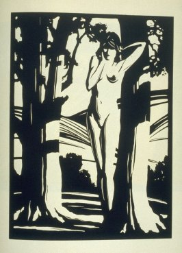 """Sapling slim and Shadow naked"", plate V in the book, California Hills… (Los Angeles: Bruce McCallister, 1931)"