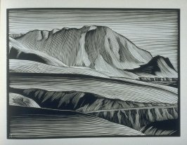 Headland…Big Sur Coast, plate I in the book, California Hills… (Los Angeles: Bruce McCallister, 1931)