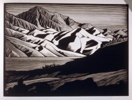 Edge of the Desert, plate XI in the book, California Hills… (Los Angeles: Bruce McCallister, 1931)