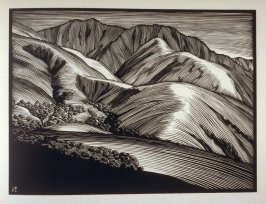 Monterey Hills, plate XIV in the book, California Hills… (Los Angeles: Bruce McCallister, 1931)