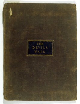 title from front cover: The Devil's Walk (London: F. G. Harding, 1831)