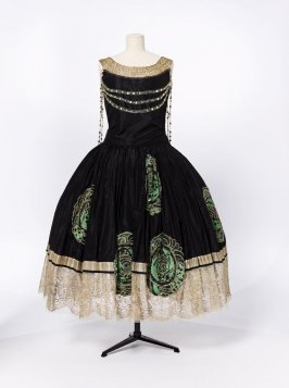 "Evening dress ""Veilleur de Nuit"" (""Night Watchman"")"