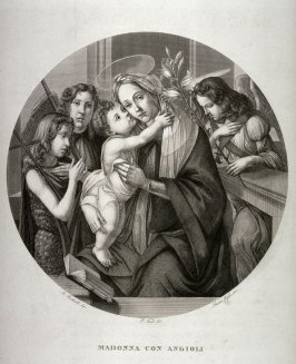 Madonna with Angels