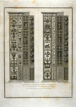 Untitled, second plate in the book Logge del Vaticano (Rome: Niccola de Antoni, [ca. 1830]