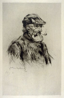 L'Assommoir (Portrait of an Old Fisherman)