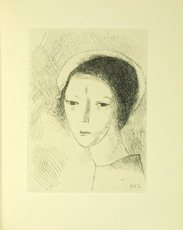 Untitled illustration by Marie Laurencin in the book Du cubisme (Paris: Compagnie Française des Arts Graphiques, 31 July 1947).