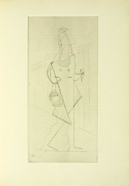 Untitled, in the book Les Pélican (The Pelicans) by Raymond Radiguet (Paris: Galerie Simon; 1921).