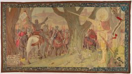 The Arrival of Joan of Arc before Patay (L'Arrivee de Jeanne d'Arc Devant Patay), from The Story of Joan of Arc series