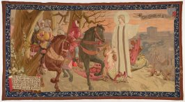 The Departure of Joan of Arc (Le Depart de Jeanne d'Arc), from The Story of Joan of Arc series