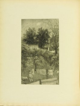 """""""The Maid was in the Garden,"""" pg. 35, in the book Cecil Lawson: A Memoir by Edmund W. Gosse (London: The Fine Art Society, 1883)"""