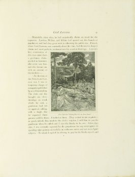 """""""First Sketch for 'Making Hay while the Moon Shines',"""" pg. 17, in the book Cecil Lawson: A Memoir by Edmund W. Gosse (London: The Fine Art Society, 1883)"""