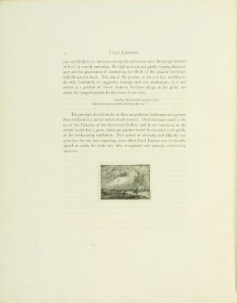 """""""The Wet Moon, Old Batersea,"""" pg. 26, in the book Cecil Lawson: A Memoir by Edmund W. Gosse (London: The Fine Art Society, 1883)"""