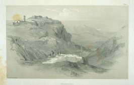 Tagliacozzo, plate 1 in the book, Illustrated Excursions in Italy (London: Thomas M'Lean, 1846)