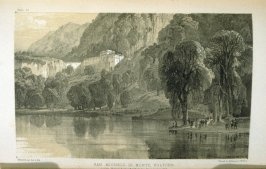 San Michele di Monte Voltore, plate 20 opposie page 268 in the book Journals of a Landscape Painter in Southern Calabria ([London]: Richard Bentley, 1852)