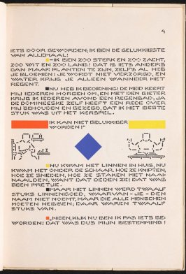 Untitled, pg. 4, in the book Het Vlas (The Flax) by H. C. Andersen (Amsterdam: De Spieghel, 1941)