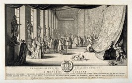 La Galerie De L'Hostel Royal Des Golbins, from [Title from spine, in English on spine] Works of Sebastien Le Clerc, Vol. II . [This is a privately made collection, including: Les Actions glorieuses de S. A. S. Charles Duc de Lorraine &c. en Hongrie, Trans