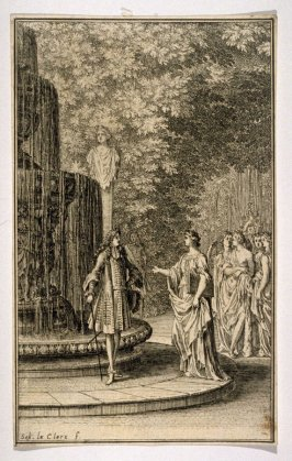 Conversations, from [Title from spine, in English on spine] Works of Sebastien Le Clerc, Vol. II . [This is a privately made collection, including: Les Actions glorieuses de S. A. S. Charles Duc de Lorraine &c. en Hongrie, Transylvanie, &c. ([no place, no