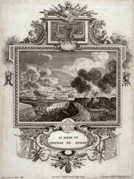 Le SiegeDu Chateau De Muran. from [Title from spine, in English on spine] Works of Sebastien Le Clerc, Vol. II . [This is a privately made collection, including: Les Actions glorieuses de S. A. S. Charles Duc de Lorraine &c. en Hongrie, Transylvanie, &c.