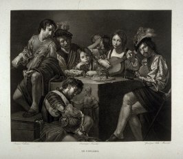 Le Concert (The concert )...twenty sixth plate in the book... Le Musée royal (Paris: P. Didot, l'ainé, 1818), vol. 2