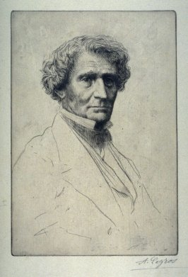 Portrait of Hector Berlioz