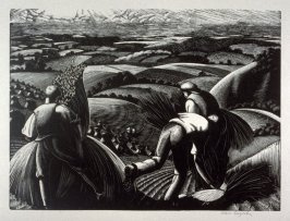 August - Harvesting, from The Farmer's Year