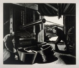 October - Cider Making, from The Farmer's Year