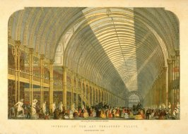 Interior of the Art Treasures Palace,Manchester 1857