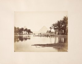 Inundation of the Nile, Pyramids of Geezeh