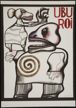 UBU ROI (image for September 1978 calendar)