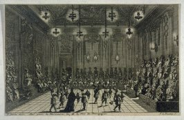 Ball for the birth of the Duc de Bourgoyne