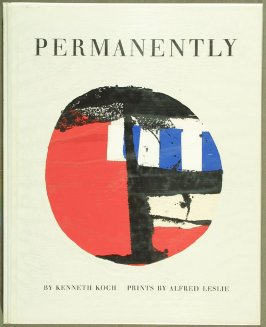 Cover for the book Permanently by Kenneth Koch in the Portfolio of 4 Books of Poetry (New York: Tiber Press, 1960)