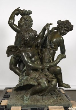 Reproduction of three cherubs (Fire)